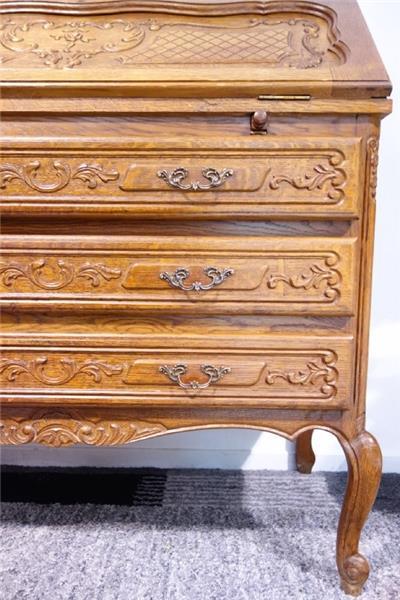 dj1514 antik kommode aus massiverholz ebay. Black Bedroom Furniture Sets. Home Design Ideas