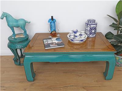 tisch couchtisch sofatisch opium massivholz 120x50x70 dj1701 ebay. Black Bedroom Furniture Sets. Home Design Ideas