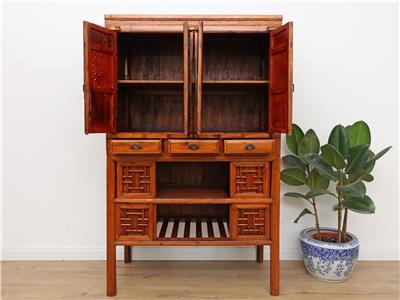 antiker chinesischer schrank hochzeitsschrank kommode china antik y001 ebay. Black Bedroom Furniture Sets. Home Design Ideas