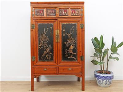 Antiker chinesischer Schrank Hochzeitsschrank Kleiderschrank China ...