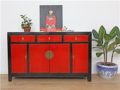 antikes sideboard chinesische kommode buffet tv m bel massivholz china y241 ebay. Black Bedroom Furniture Sets. Home Design Ideas