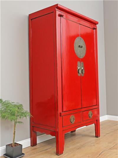 chinesischer schrank hochzeitsschrank kleiderschrank china antik y326 ebay. Black Bedroom Furniture Sets. Home Design Ideas
