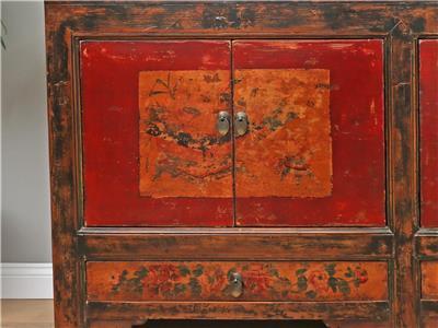 antike altar chinesische kommode sideboard hochzeitsschrank china m bel y493 ebay. Black Bedroom Furniture Sets. Home Design Ideas